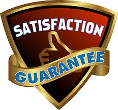 Our work is fully guaranteed